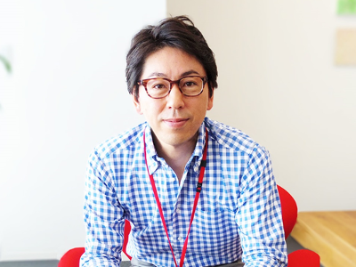 店舗ユニット長 兼 人事戦略室長 宝地戸健太氏