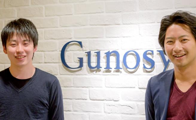 株式会社Gunosy 代表取締役社長兼CEO 福島 良典氏 取締役 COO 竹谷 祐哉氏